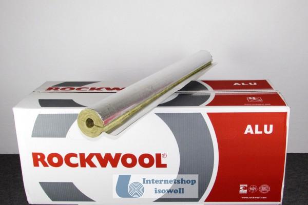 Rockwool 800 Rohrschale alukaschiert (Karton)