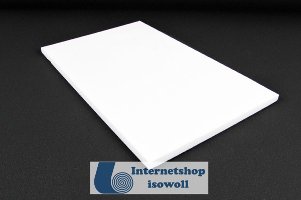 XPS Hartschaumplatte 10mm Stärke in weiß
