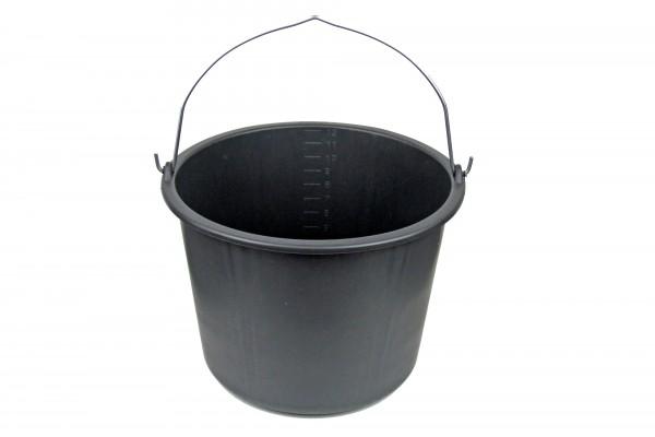 Baueimer mit Bügel, 12 Liter