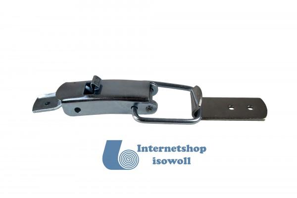 100 Stück Kappenschlösser A2 Edelstahl 2/55/60 F, 3,5mm Nietlochung