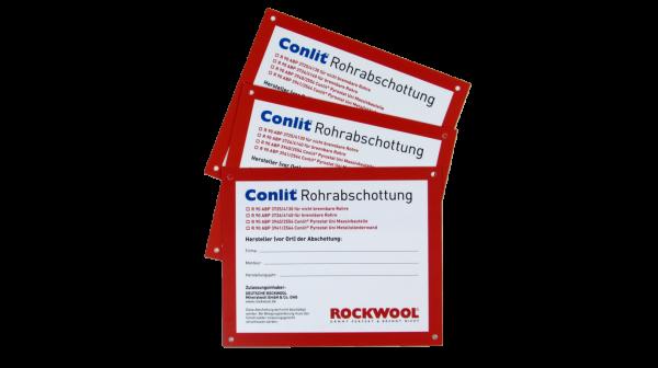 Kennzeichnungsschild Conlit R-90