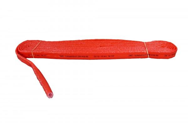 PE Rohrschutz rot