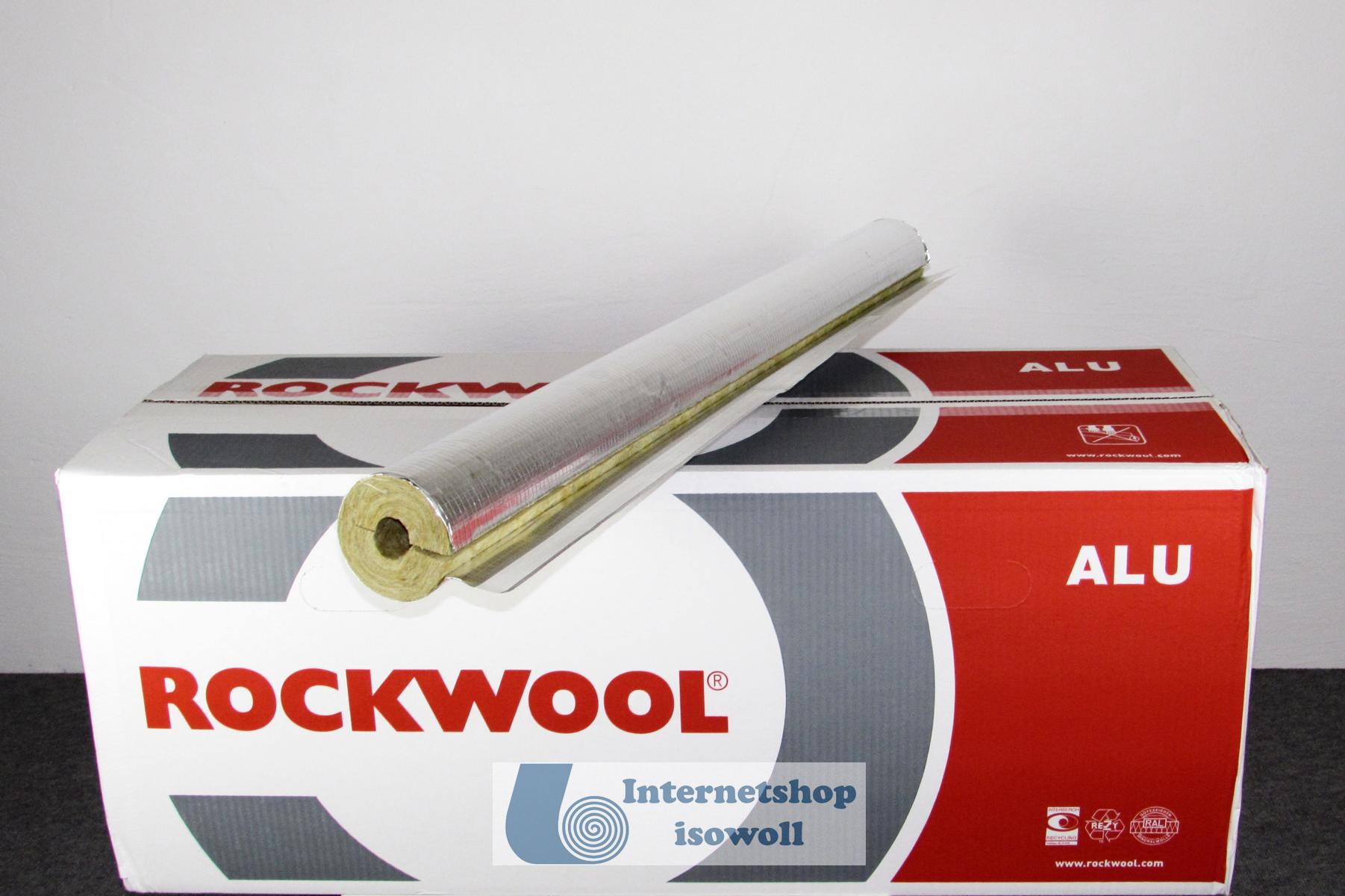 rockwool alukaschierte rohrschale 800 im karton isowoll onlineshop f r isolierd mmstoffe. Black Bedroom Furniture Sets. Home Design Ideas