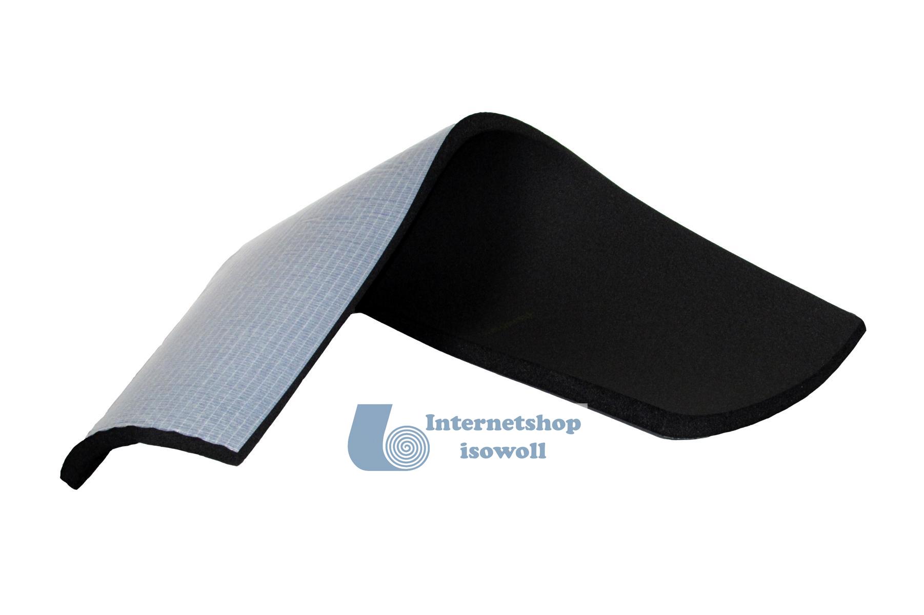 1 qm original armacell af kautschuk platte selbstklebend isowoll onlineshop f r. Black Bedroom Furniture Sets. Home Design Ideas
