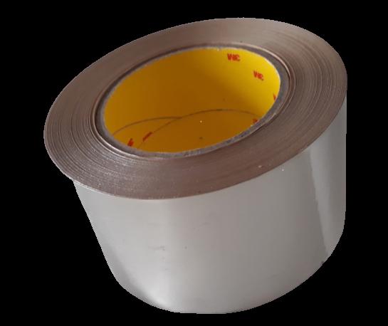 Reinaluminiumklebeband Coroplast 1530 AWX 75 mm