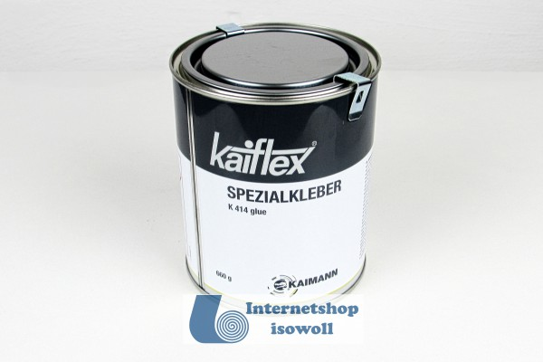 Kaimann Spezialkleber 414, 0,66Kg (0,79 Liter), inklusive Pinsel