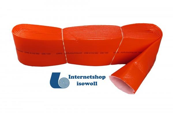Schutzschlauch rot 4mm Stärke, Länge 10 Meter