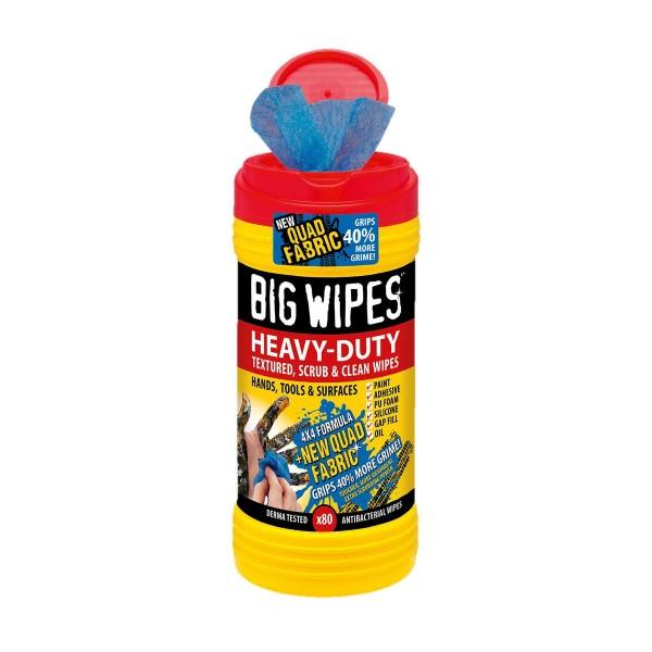 Big Wipes Heavy-Duty Reinigungstücher mit 4x4 Formel