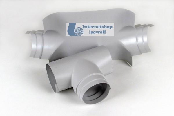 Ekafol PVC 90° Kombinationsabzweig